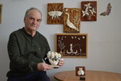 Cum a reusit un artist din Tulcea sa atraga atentia muzeografilor cu lucrari din oase de peste