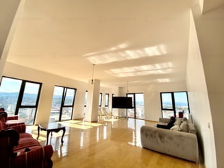 Cum arată cel mai scump penthouse scos la vânzare în Cluj. Costă de 4 ori mai mult decât unul în Austria sau Italia