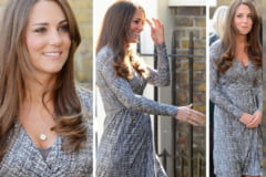 Cum arata burtica lui Kate Middleton, in a 5-a luna de sarcina