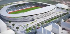 Cum arata cel mai nou stadion de lux din Romania: Risca sa fie abandonat inca de la inaugurare (Foto)