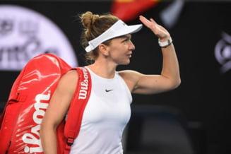Cum arata culoarul Simonei Halep dupa rezultatele neasteptate inregistrate sambata la Australian Open
