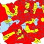 Cum arata harta politica a judetului Bacau