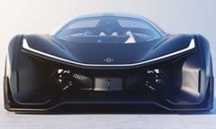 Cum arata masina viitorului: Un Batmobil cu o putere uimitoare, care incorporeaza telefonul in volan (Video)