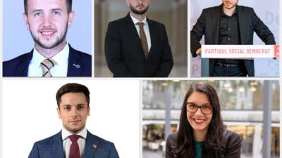 Cum arata noua generatie de parlamentari. Cel mai tanar are 25 de ani iar inainte de a ajunge in Parlament nu a lucrat niciodata