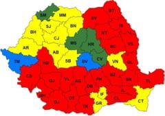 Cum arata noua harta politica a Romaniei: PSD castiga in 22 de judete