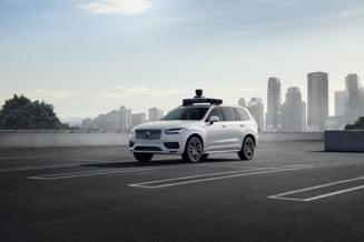 Cum arata noul concept de masina autonoma si drona care livreaza mancare de la Uber (Foto)