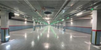 "Cum arata parcarea subterana uriasa construita in doi ani la Bucuresti. Va fi gata ""in perioada imediat urmatoare"""