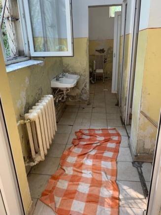 Cum arata sectia de psihiatrie a Spitalului Judetean Constanta: Un loc unde s-ar putea turna filme horror (Foto)