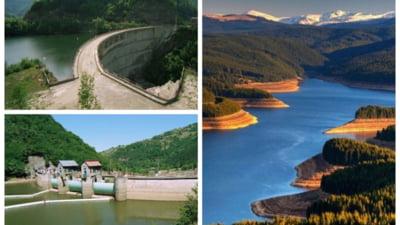 Cum au fost construite barajele si hidrocentralele de pe Valea Sebesului. Mii de oameni au muncit si locuit in colonii timp de 15 ani FOTO VIDEO