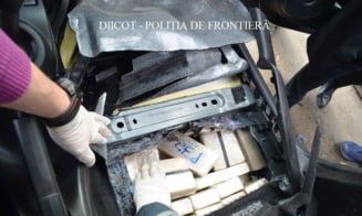 Cum au fost dati de gol olandezii care au incercat sa treaca frontiera in Romania cu 84,3 kilograme de heroina