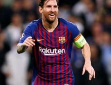 Cum comenteaza Messi eliminarea lui Ronaldo din Champions League