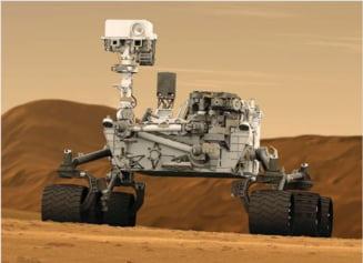 Cum era apa de pe Marte. Aminteste un pic de cea de pe Terra, dar era diferita