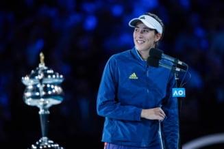 Cum explica Garbine Muguruza finala pierduta la Australian Open in fata lui Sofia Kenin