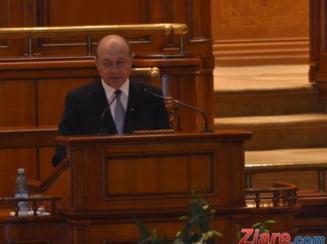 Cum explica Traian Basescu convorbirea cu Sorin Blejnar (Video)