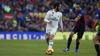 Cum explica antrenorul celor de la Real Madrid dezastrul din derbiul cu FC Barcelona
