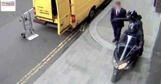 Cum fură românii telefoane mobile în Londra. Se folosesc de tehnici clasice cu care nu dau greș VIDEO