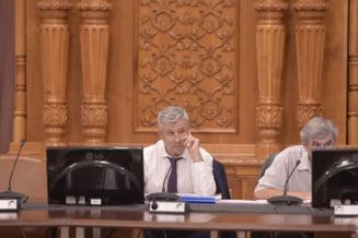 Cum ii soptea Florin Iordache secretarului de stat din MJ ce sa zica in Comisia Juridica: De revizuire sa spui! (Video)