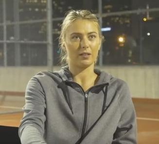 "Cum incearca Sharapova sa-si ""reduca dramatic"" pedeapsa pentru dopaj"