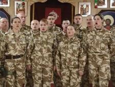 Cum isi petrec Craciunul militarii romani aflati in Afganistan (Video)