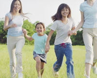 Cum iti ajuti copiii sa fie activi?