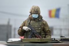 Cum ne ajuta, concret, Armata in lupta cu coronavirusul. De ce au venit soldatii inarmati si cu masini tactice, in Piata Unirii