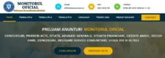 Cum public un anunt obligatoriu in Monitorul Oficial?
