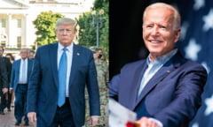 """Cum s-a desfasurat ultima confruntare directa dintre Donald Trump si Joe Biden. Moderatoarea: """"A fost o dezbatere fantastica"""""""