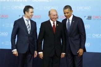 Cum s-a distrat Traian Basescu la summit-ul NATO (Galerie foto)