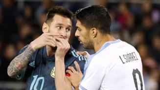 Cum s-a incheiat duelul Messi - Suarez de la Copa America