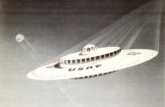 Cum s-a nascut legenda farfuriilor zburatoare, in urma cu 66 de ani