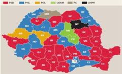 Cum s-a schimbat harta politica a Romaniei