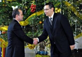 Cum s-a trezit Ponta ca-i este dor de Boc (Opinii)