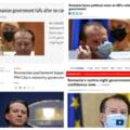 """Cum s-a văzut răsturnarea guvernului Cîțu în presa internațională: """"O alianță improbabilă s-a unit"""""""