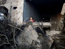 Cum s-a vazut finala CM 2014 din Gaza: Curaj printre bombe