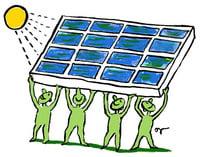 Cum s-au ars nemtii cu energia solara din panouri