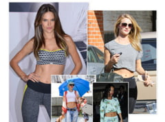 Cum sa obtii un abdomen plat: secrete ale unor femei celebre (Galerie foto)