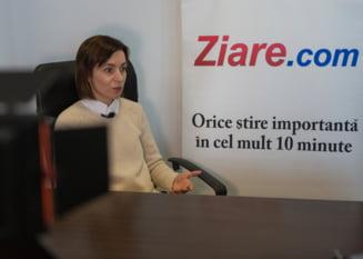 Cum sa scapi tara de un oligarh si sa ramai cu altul Interviu video cu Maia Sandu