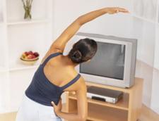 Cum sa slabesti in timp ce te uiti la televizor