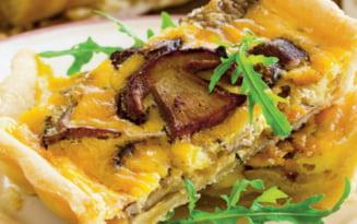 Cum se prepara tartele cu ciuperci dupa o reteta a maicutelor de la o manastire din Mehedinti