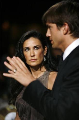 Cum se razbuna Demi Moore pe Ashton Kutcher