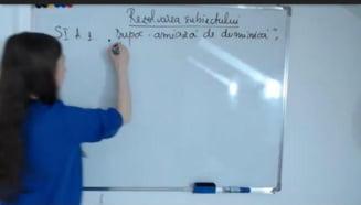 Cum se rezolvau corect subiectele la Romana de la Evaluarea Nationala VIDEO