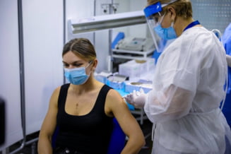 Cum se simte Simona Halep dupa rapelul facut cu Pfizer