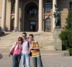 Cum si-au petrecut Nico si Vlad Mirita a treia zi la Belgrad
