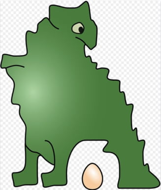 Cum stateau dinozaurii de o tona pe oua, fara sa le striveasca? In sfarsit, avem raspunsul