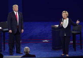 Cum stau in sondaje Clinton si Trump, cu trei saptamani inainte de alegeri - Ce efect a avut inregistrarea din 2005