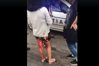 Cum trebuiau sa intervina politistii in cazul fetei pline de sange - ce spune manualul de tactica invatat la scoala de agenti