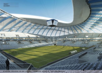 Cum va arata noul stadion de la Craiova: Va fi cel mai frumos din Europa (Galerie foto si video)