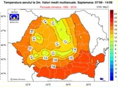 Cum va fi vremea in primele saptamani de toamna. Prognoza anuntata de meteorologii romani pana pe 14 septembrie