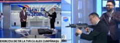 Cumpanasu a tras cu arma la TVR, intr-o emisiune electorala. CNA va discuta cazul saptamana viitoare