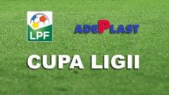 Cupa Ligii: Programul meciurilor de duminica